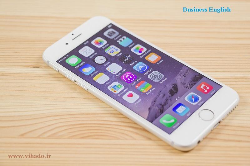 آموزش صحبت در مورد گوشی ایفون 6 به انگلیسی